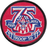 Troop 59 Honors Veterans, Prepares for Memorial Day at St. Vincent de Paul Cemetery